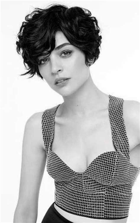 short sassy haircuts curly hair wavy short hairstyles for women short hairstyles 2017