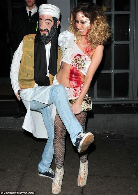 dress up like a dead celebrity hollyoaks cast dress up as osama bin laden and steve irwin