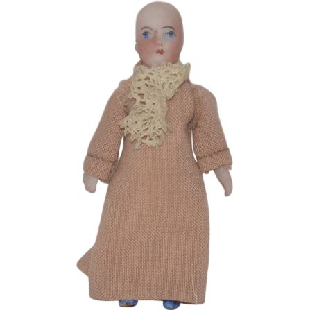 jointed doll neck wonderful doll miniature all bisque jointed w swivel