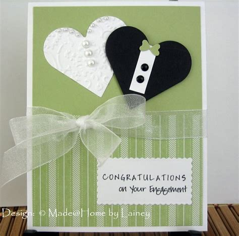 Handmade Engagement Card Ideas - 25 best ideas about engagement cards on