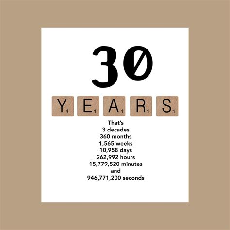 Funny 30th Birthday Card Sayings