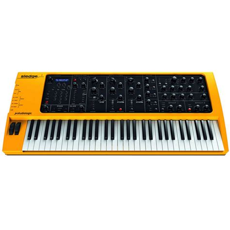 Keyboard Imperion Sledgehammer 7 Studiologic Sledge 61 Key Synthesizer N 228 Stan Ny P 229