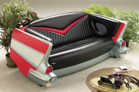 57 chevy sofa car furniture unusual stories indoor furniture made from
