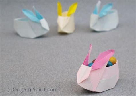 Easy Origami Easter Bunny - origami origami rabbit bunny