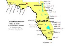 shark attacks in florida map things i worry about on vacation