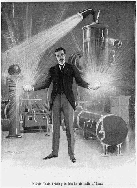 Nikola Tesla Science Free Radicals How Anarchy And Serendipity Fueled Science