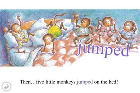 five little monkeys jumping in the bed five little monkeys jumping on the bed app for ipad