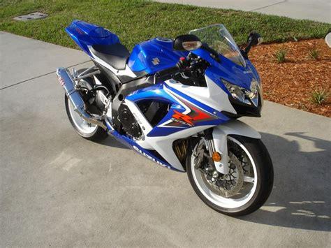 2008 Suzuki Gsx R750 2008 Suzuki Gsx R 750 Sportbike For Sale On 2040motos