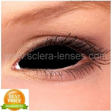 sclera tattooing cosmetic town buy black sclera contact lenses black eye