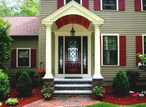 ideas for ranch style homes front porch small craftsman home ideas small front porch outdoor lights back deck