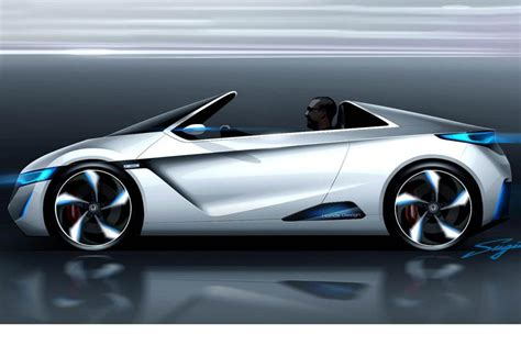 nissan small sports car honda s electric sports car concept pictures evo