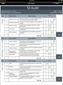 manufacturing checklist template 5s audit checklist template pictures to pin on