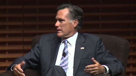 Value Of Stanford Mba by Mitt Romney On Leadership Your Values