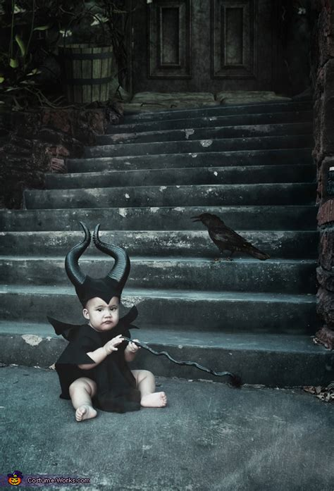 cutest maleficent baby costume