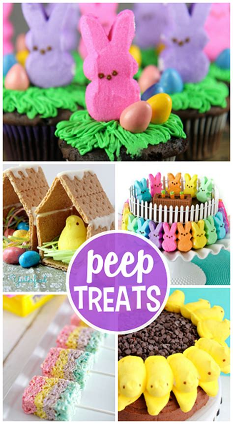 Easter Treats From Me To You by Easter Treats Made With Marshmallow Peeps Crafty Morning