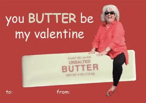 you butter be my butter be my valentines day card gif vdaycards