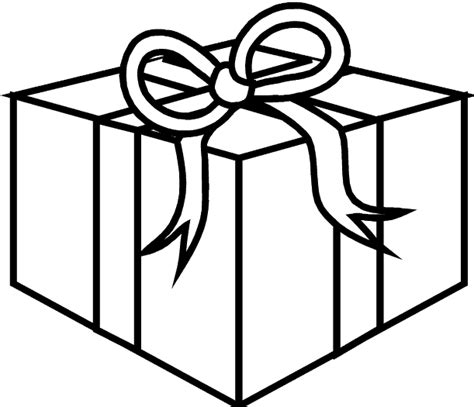 printable gift coloring page box coloring pages 6