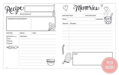 val the keepsake kitchen diary heirloom recipe book
