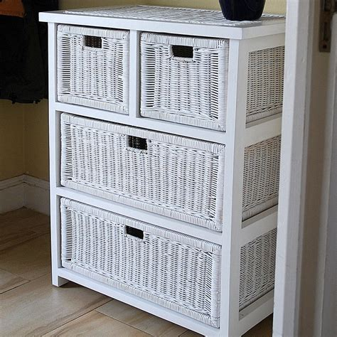 white rattan chest of drawers bedroom chest of drawers wicker chest of drawers candle