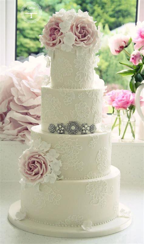 pasteles de boda con encaje foro banquetes bodas mx p gina 2 pasteles de boda con aire elegante y vintage foro
