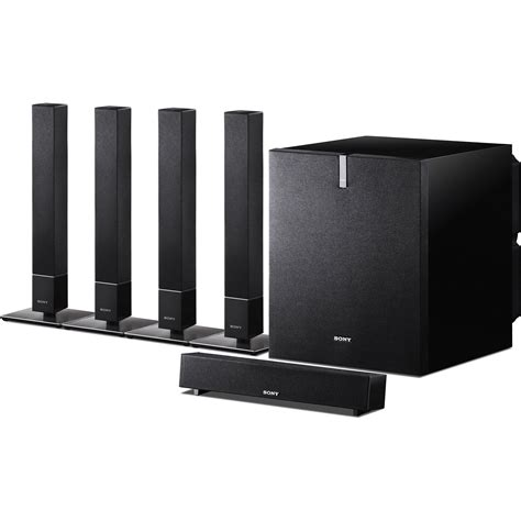 Home Theater Speakers Sony Sony Sa Vs110 5 1 Channel Home Theater Speaker System Sa Vs110