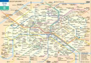 Paris Metro Map English by Travelholic Wakey Wakey Vasa Viking
