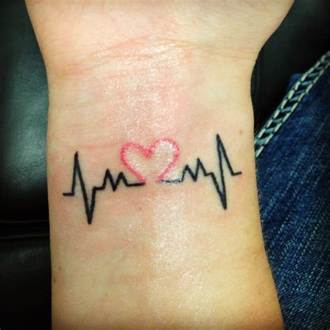 35 satisfying heartbeat tattoo designs ideas amp images