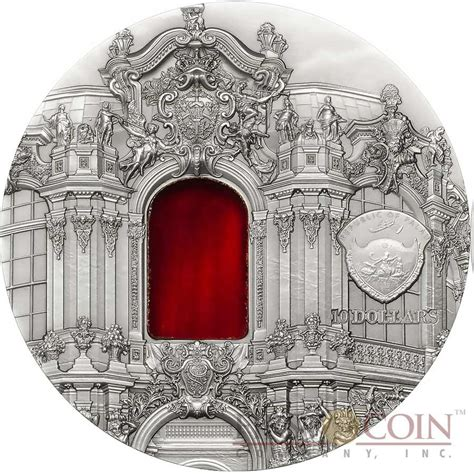 baroque basic art series 383654749x palau 10th edition baroque dresden 10th anniversary tiffany art series silver coin 10 antique