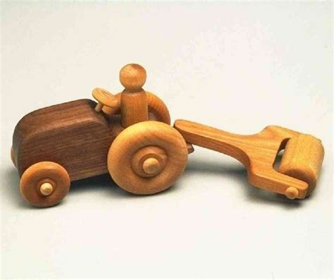 Handmade Wooden Toys Plans - free wooden tractor plans woodworking projects plans