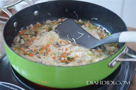 diah didis kitchen misoa cup mini ayam jamur