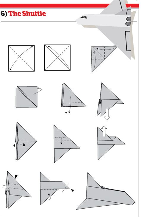 How To Make A Rocket Paper Airplane - paper airplanes how to fold and create paper airplanes