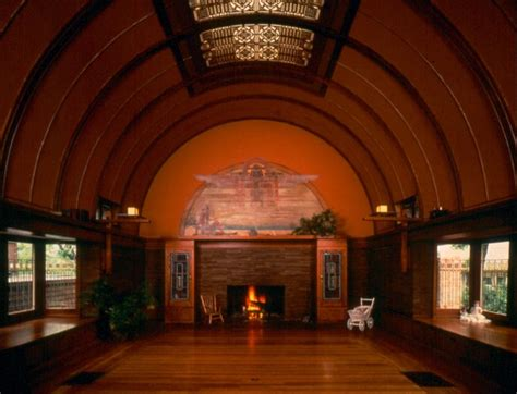 frank lloyd wright living room wright home and studio traditional living room by
