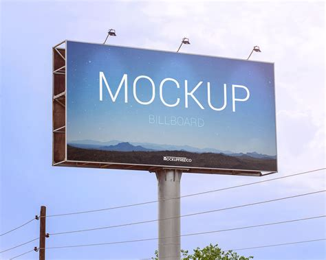 Design Coffee Mug by Free Outdoor Advertising Billboard Mockup Psd Good Mockups