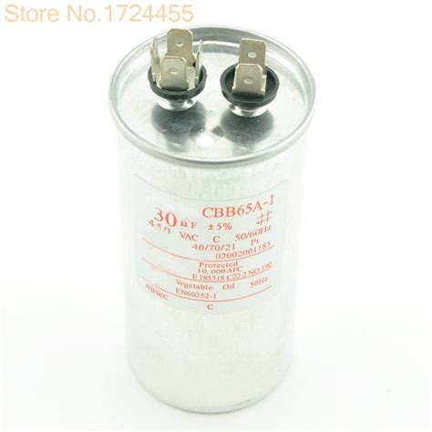 air conditioning compressor capacitor cbb65 30uf 450v start capacitor 30uf cbb65a 1 explosion proof air conditioning compressor