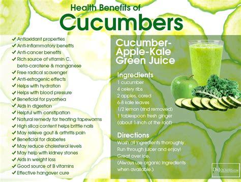 benefits of cucumber 10 health benefits of cucumbers