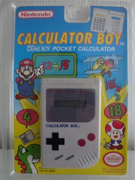 resetting gba games nintendo game boy pocket calculator 1993