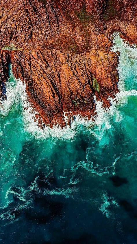 iphone wallpaper ocean waves graphic design  em