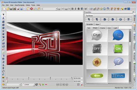 graphic design movie maker aurora 3d animation maker descargar