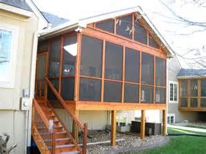 kansas city screen porch builder dynamic porch amp patio