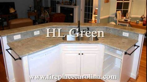 New Granite Colors Ideas for White Cabinets 2014   YouTube