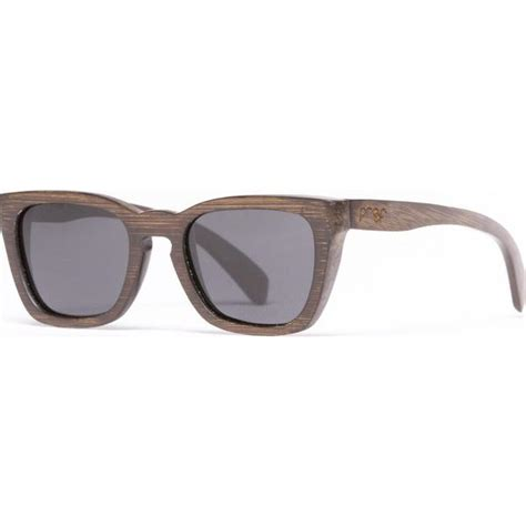 proof provo stained bamboo sunglasses polarized lens