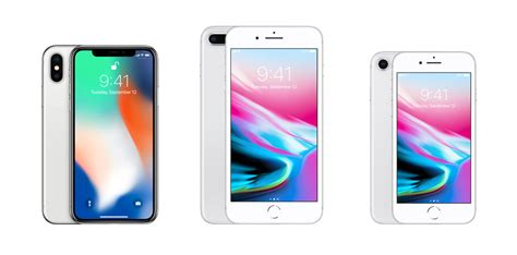 iphone x vs iphone 8 plus vs iphone 8 specs comparison
