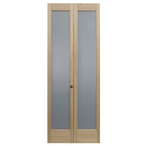 Full frosted glass decorative bifold doors