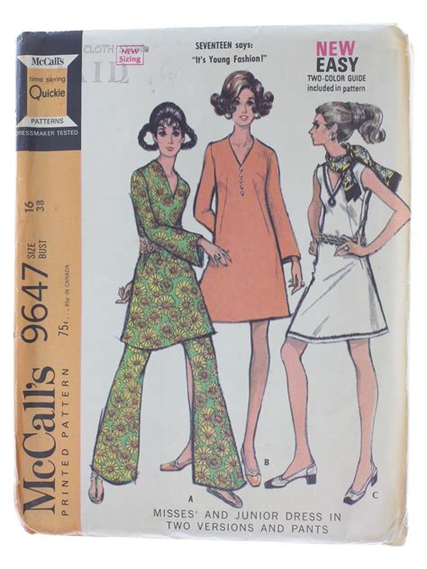 dress pattern without darts vintage mccalls pattern no 9647 1960s sewing pattern 60s