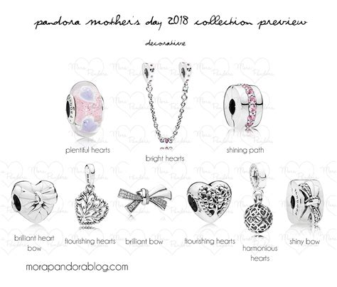 mothers day 2019 pandora s day 2018 collection preview mora pandora