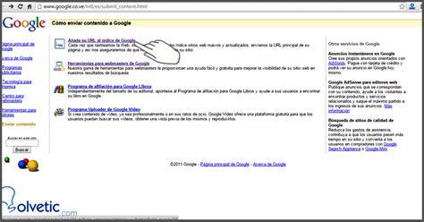 ci captcha tutorial pasos para la indexaci 243 n de un nuevo sitio web a google