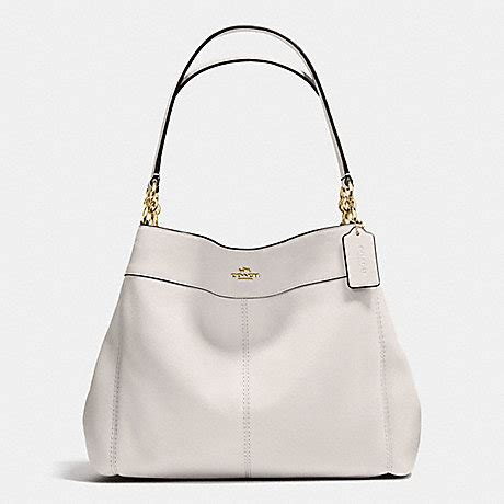 Coach Bag Chalk by 174 5 Lexy Shoulder Bag In Pebble Leather Coach F57545 Imitation Gold Chalk Handbags