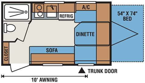 trailer floor plans travel trailer floor plans micro floor plans palomino