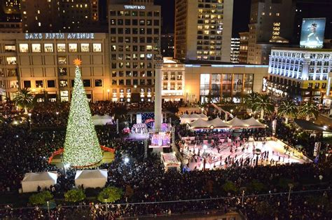 union square tree lighting 2017 2017 macy s great tree lighting union square funcheap