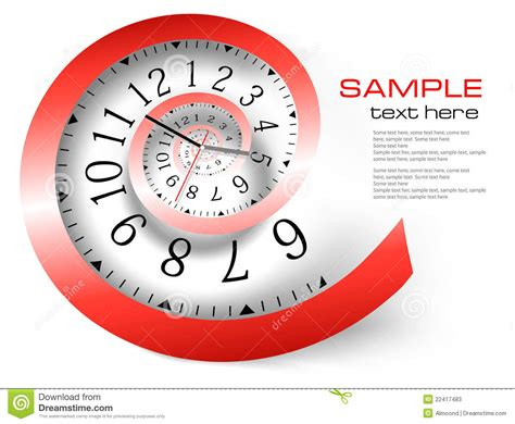 clock layout vector infinity time background vector stock photos image